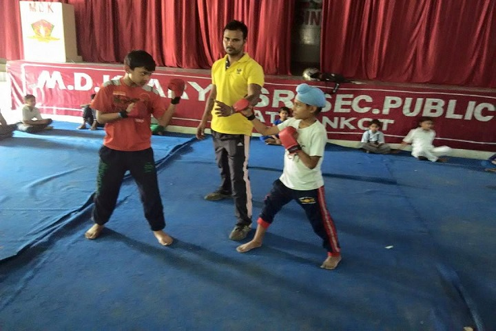 Mela Devi Kalra Arya School-Boxing