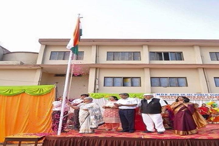 Mela Devi Kalra Arya School-Flag Hosting