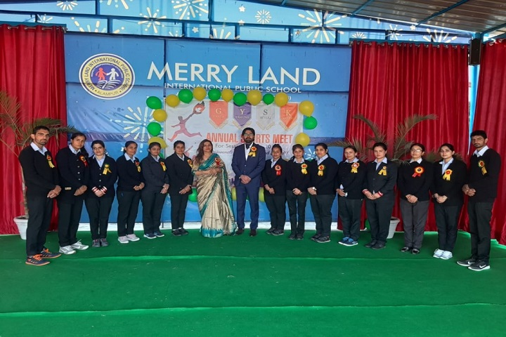 Merry Land International Public School-Annual Sports meet