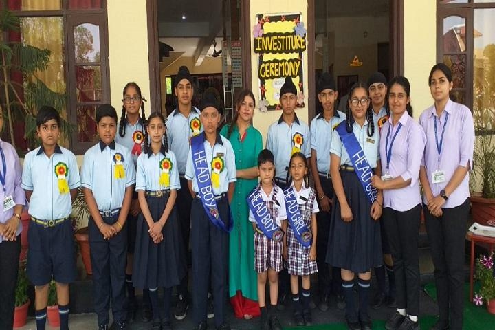 Merry Land International Public School-Presenting the heads