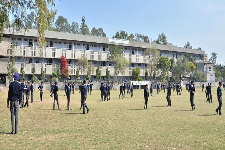 Modern High School-Play Ground