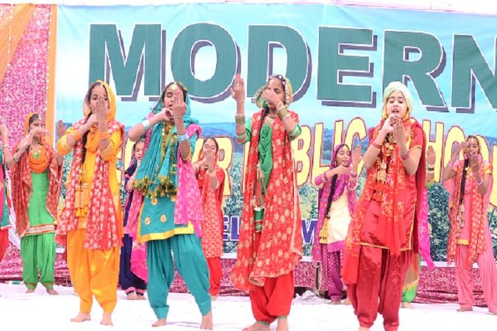 Modern Secular Public School-Events programme