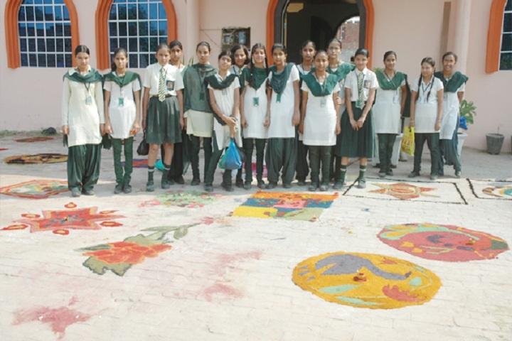 Modern Secular Public School-Events rangoli