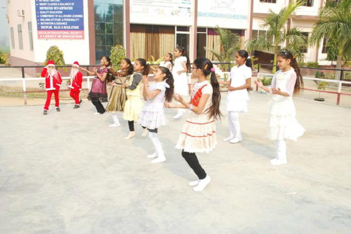 Modern Secular Public School-Dance Performance