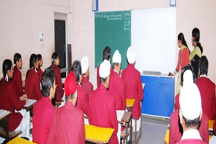Modern Secular Public School-Classroom
