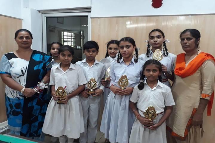 Modern Secular Public School-Awards