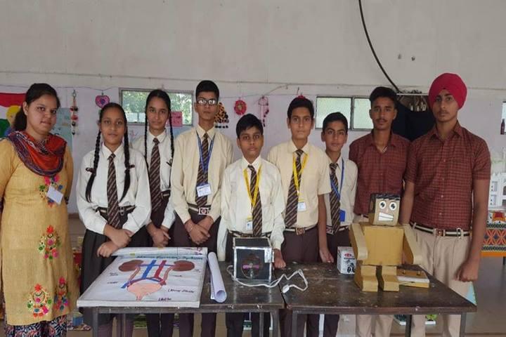 Modern Secular Public School-Exhibition
