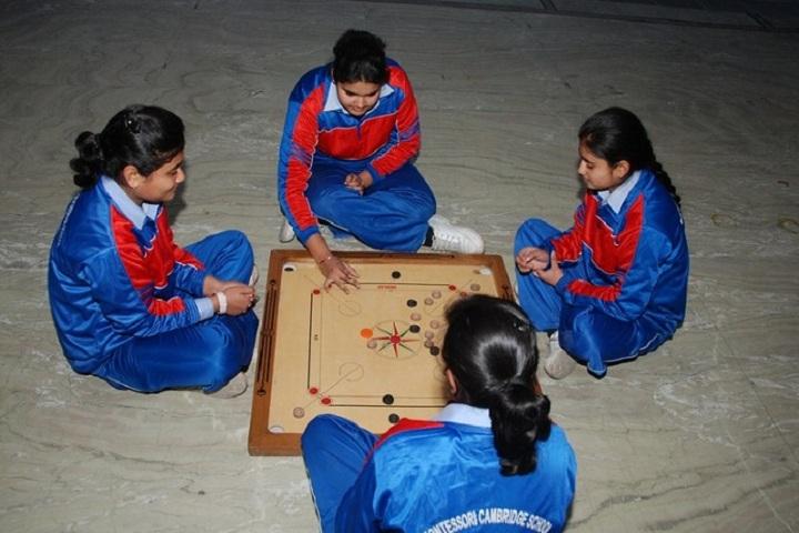 Montessori Cambridge School-Indoor Games