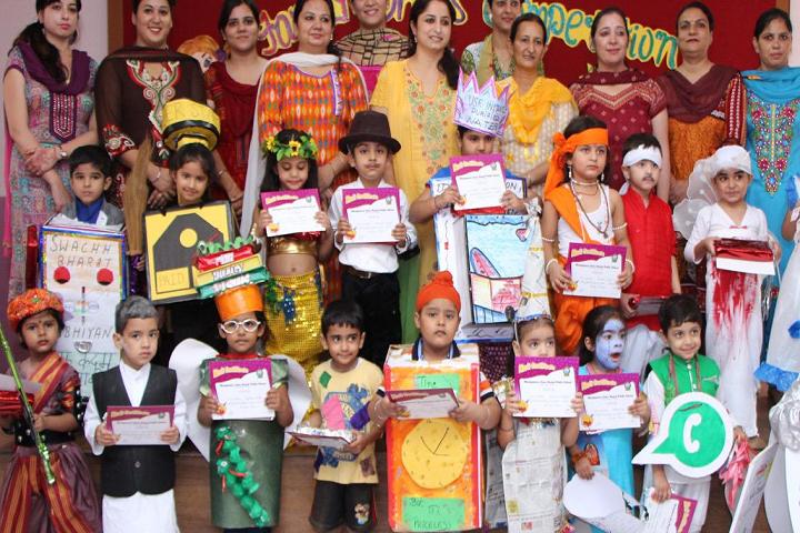 Montgomery Guru Nanak Public School-Fancy dress competition