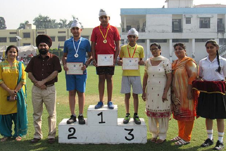 Montgomery Guru Nanak Public School-Sports Champions