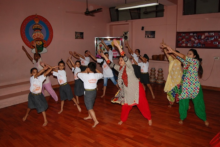 MGN Public School-Dance Room