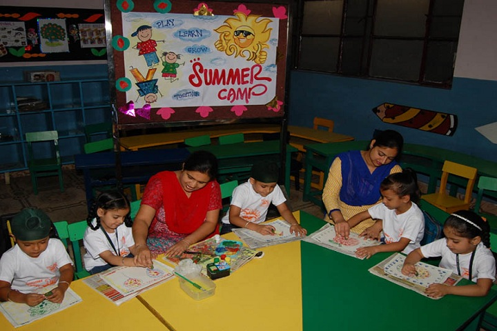 MGN Public School-Summar Camp