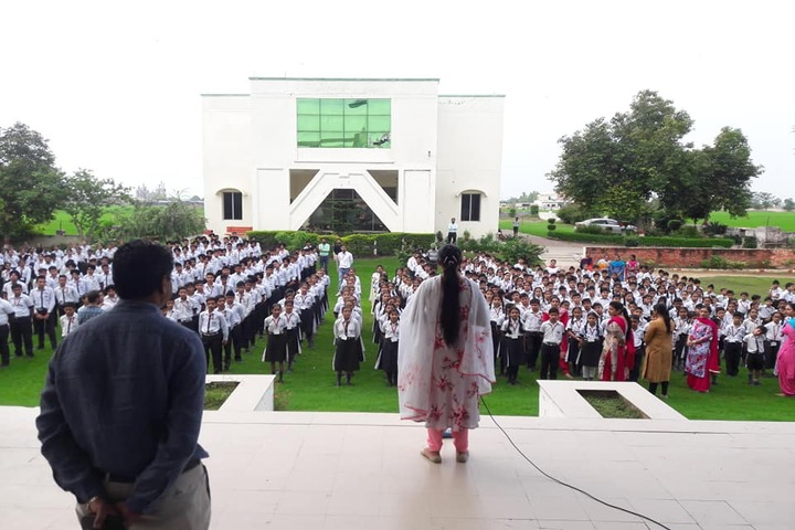 Mother India Public School-Assembly