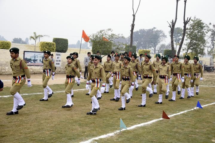 Mother India Public School-NCC