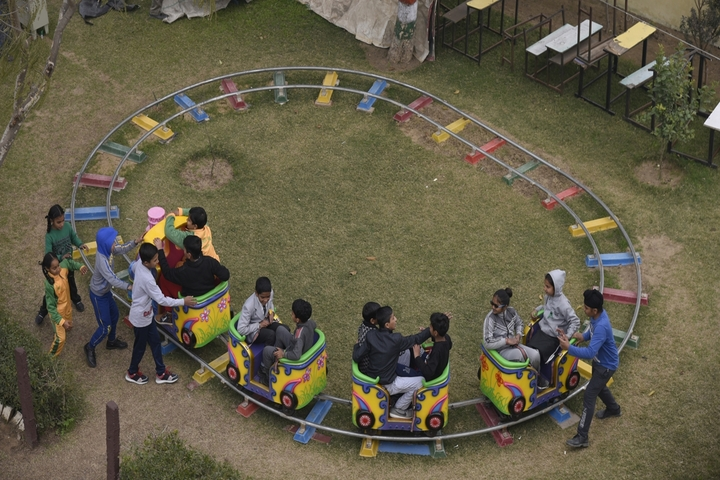 Mother India Public School-Play Area