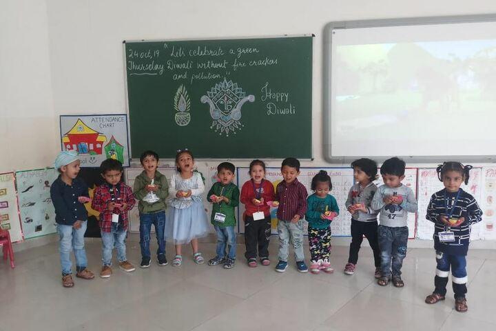 Mount Litera Zee School-Diwali Celabrations