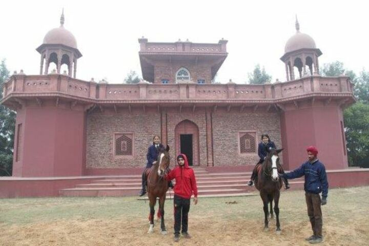 Mount Litera Zee School-Horse Riding