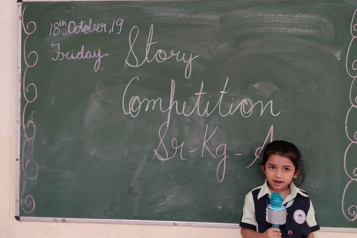 Mount Litera Zee School-Story Telling Competition
