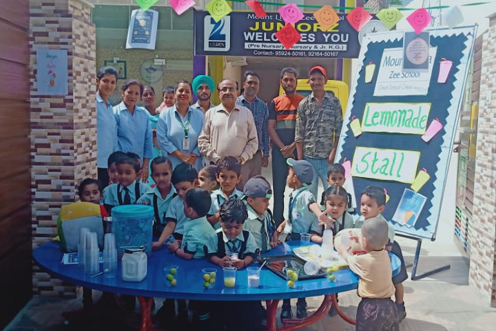 Mount Litera Zee School-Lemon Day