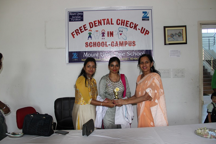 Mount Litera Zee School-Medical Camp