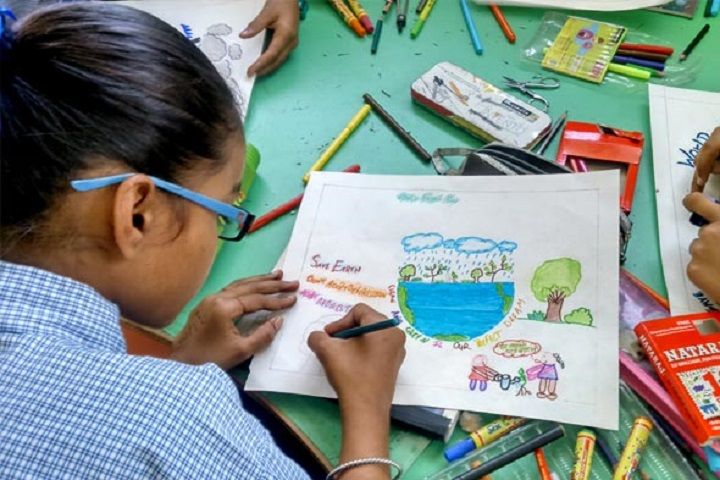 NRM Holy Heart Convent School-Earth Day