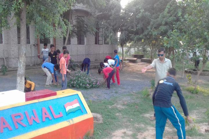 Jawahar Navodaya Vidyalaya-Cleanliness Drive