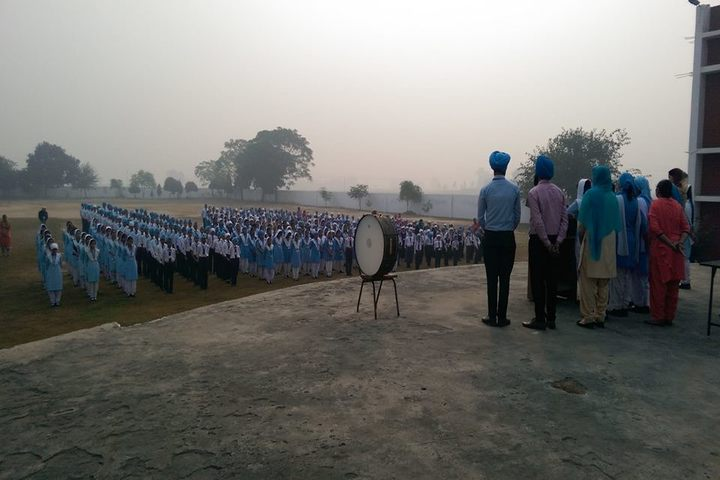 Nankana Sahib Public Senior Secondary School-Assembly