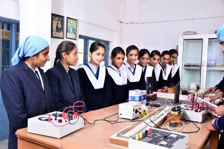 Nankana Sahib Senior Secondary School-Physics Lab
