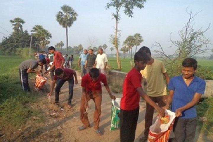 Jawahar Navodaya Vidyalaya -Cleaing the campus