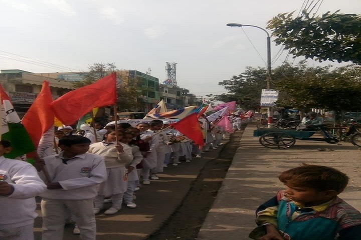 Netaji Model School-Rally