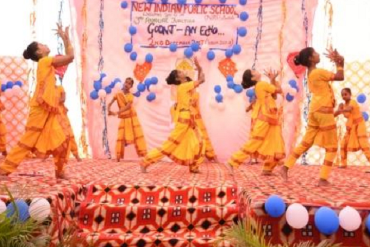 New Indian Public School-Classical Dance
