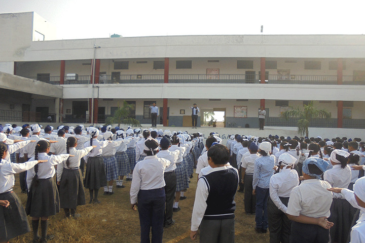 Nirmal Sagar Public School-Assembly