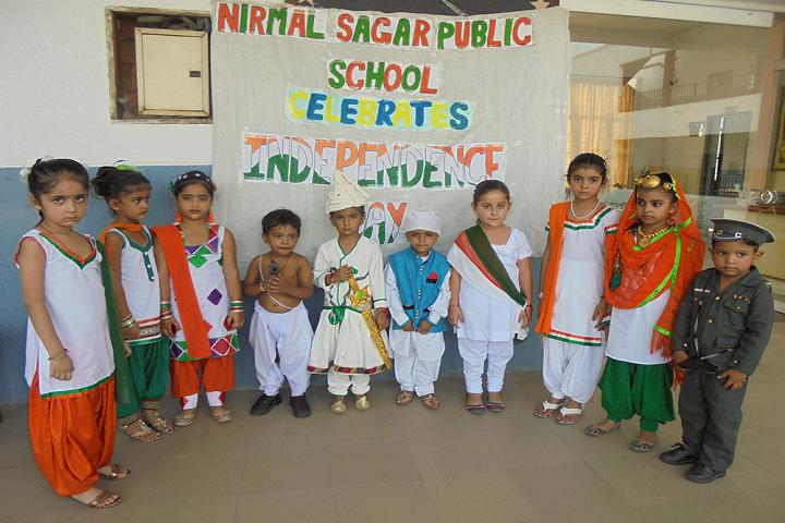 Nirmal Sagar Public School-Independent day celebrations