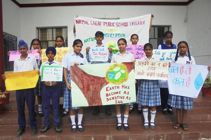 Nirmal Sagar Public School-Earth Day
