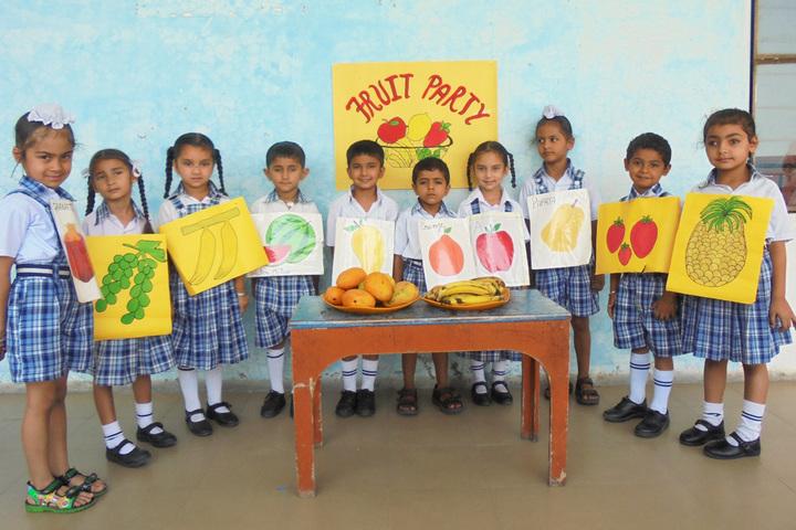 Nirmal Sagar Public School-Fruits Day