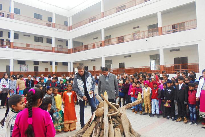 Nirmal Sagar Public School-Lohri Celebrations