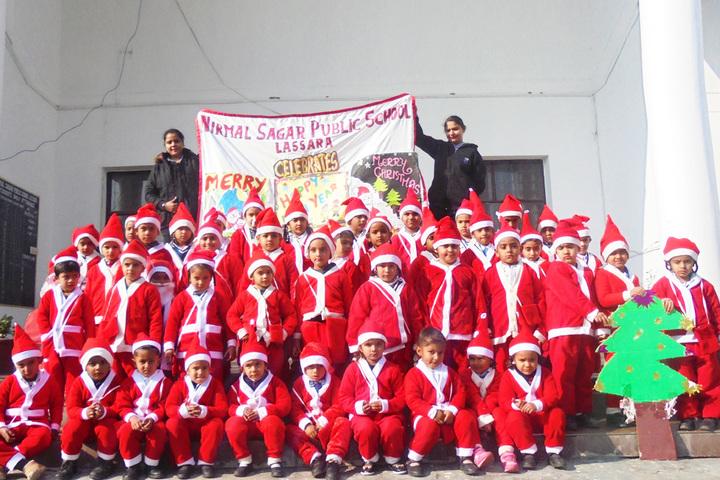 Nirmal Sagar Public School-Xmass Celebration