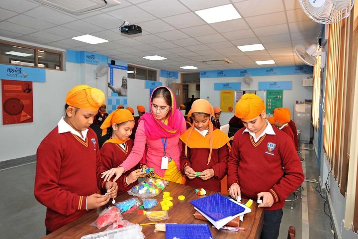 Nishan-E-Sikhi International School-Maths Lab