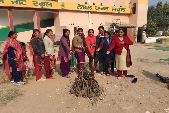 Noble Heart School-Lohri celebration