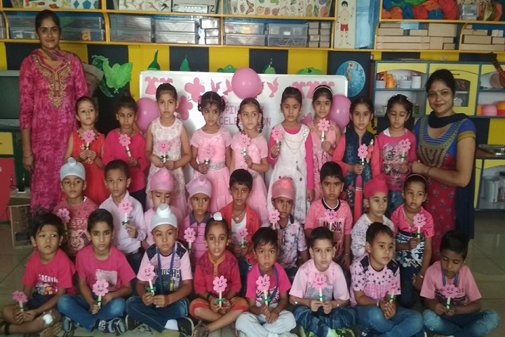 NRM Holly Heart Convent School-Pink Day Celebration