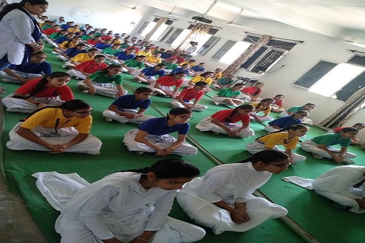 NRM Holly Heart Convent School-Yoga Class