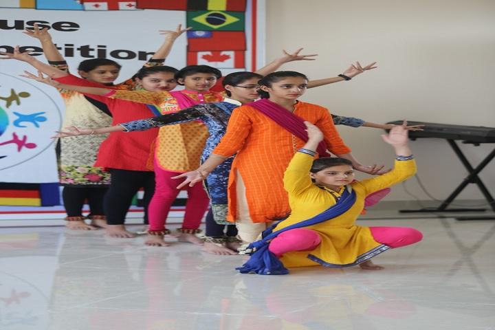 Oakridge International School-Inter house Dance competition