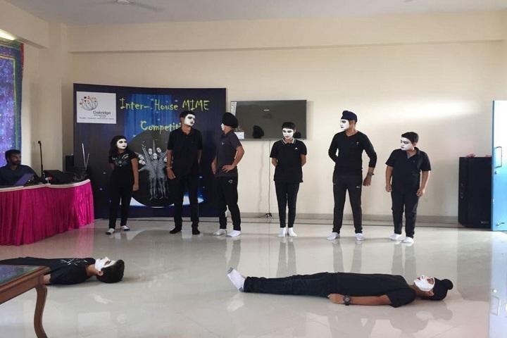 Oakridge International School-Inter house mim competition