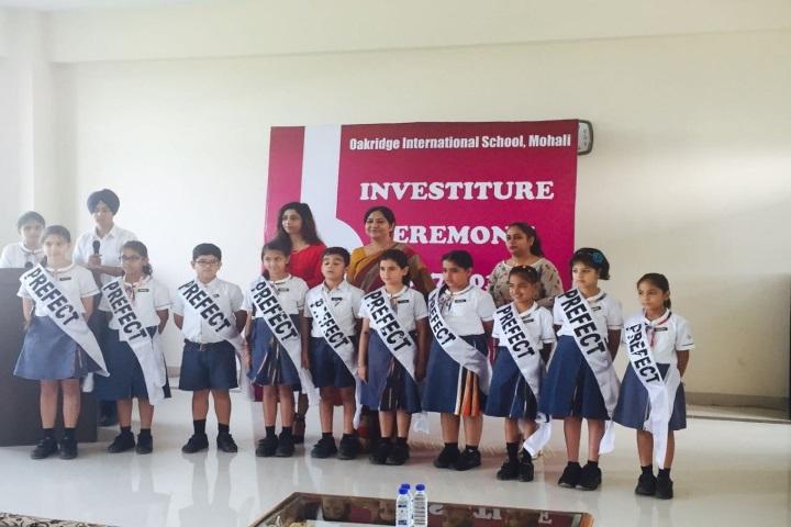 Oakridge International School-Investiture Ceremony