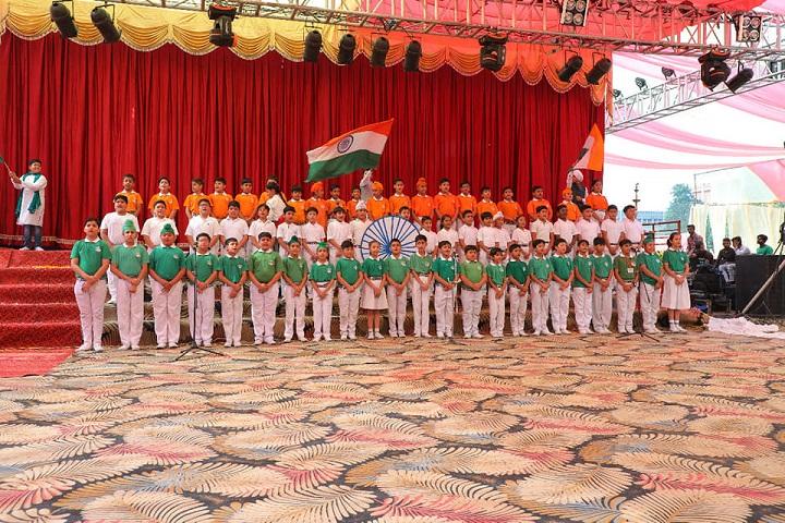 Om Parkash Bansal Modern School-Annual Cultural Day Dance Performance