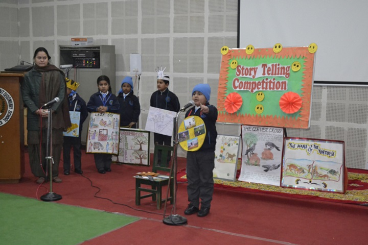 Our Lady Of Fatima Convent Secondary School-Story Telling Competition