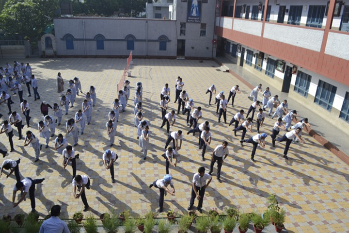 Our Lady Of Fatima Convent Secondary School-yoga Day Celebrations