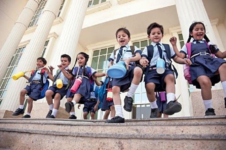 Oxford School-Children Play
