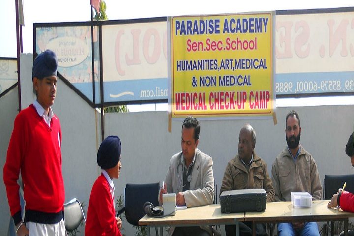 Paradise Academy-Medical Checkup