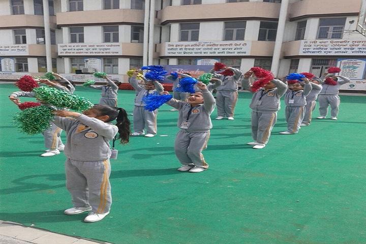 Paragon Senior Secondary School-Cheering